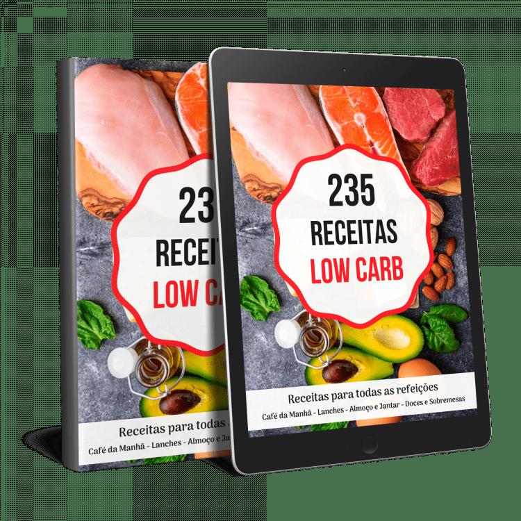 235  Low Carb, Pratos Fáceis, Rápidos e Baratos