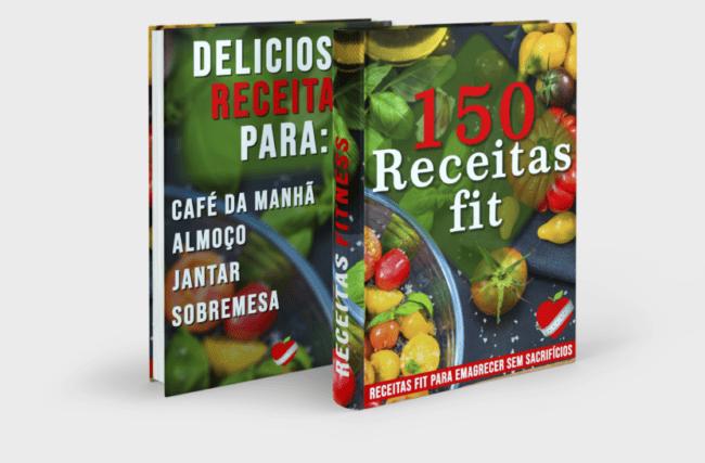 150 Receitas Fit para Emagrecer de Vez (Perca 10 kg em 30 dias) de maneira Rápida, Fácil e Saudável