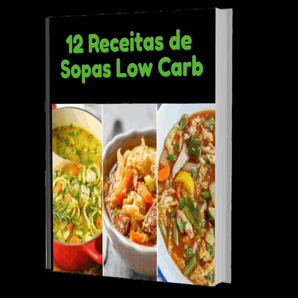 12 RECEITAS DE SOPAS LOW CARB