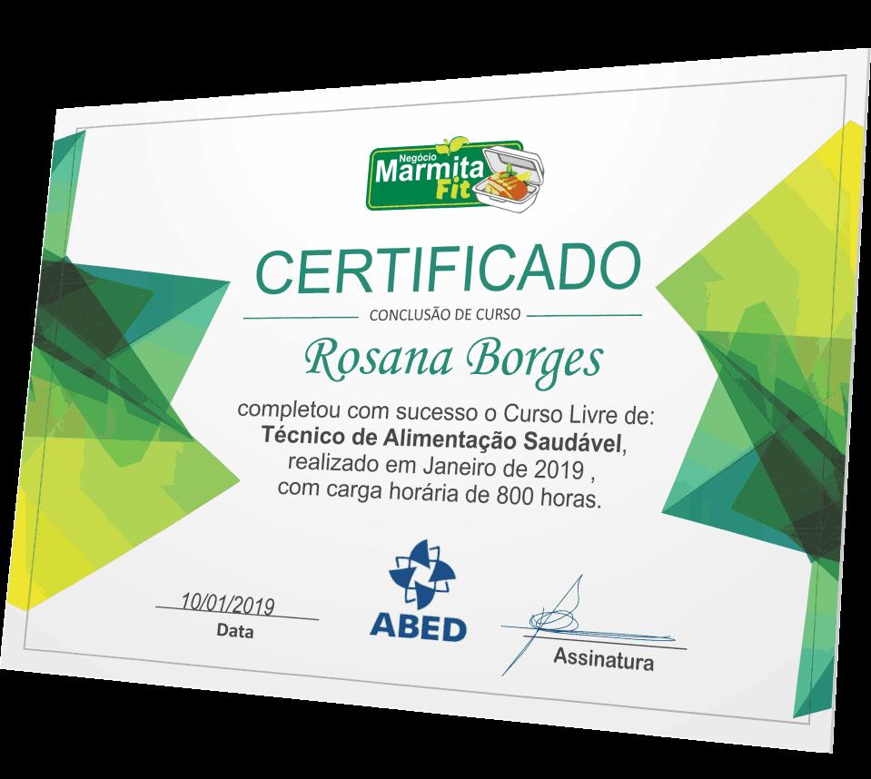 Negócio Marmita Fit—Curso com certificado