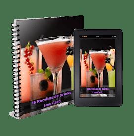 2# BÔNUS: 15 RECEITAS DE DRINKS LOW CARB