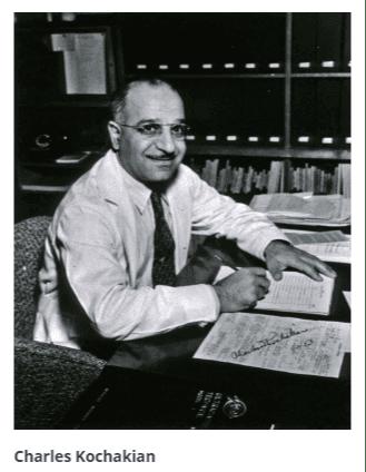 Dr. Charles D. Kochakian pai do EAA