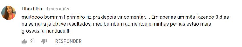 GLÚTEOS AO EXTREMO - MBN depoimento