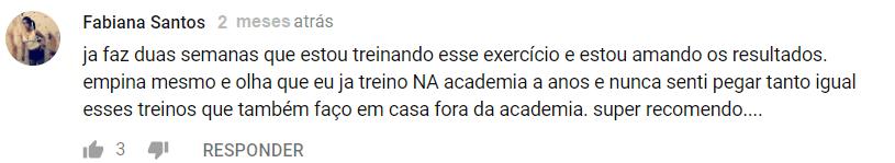 GLÚTEOS AO EXTREMO - MBN depoimento 3