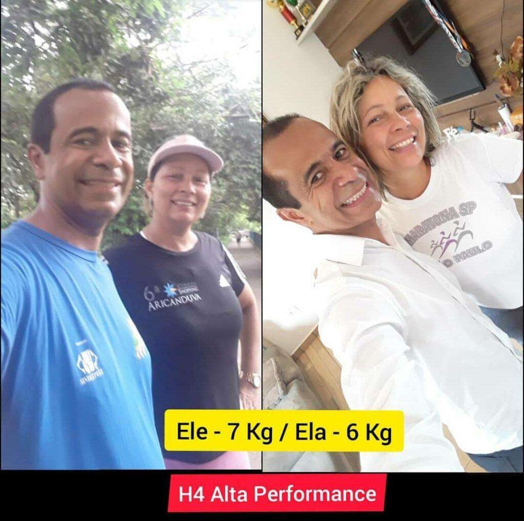 H4 Alta Performance antes e depois