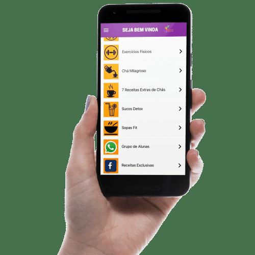 Aplicativo Projeto 30 Dias Magra