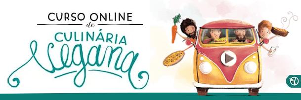 Curso Online de Culinária Vegana com a Kombi Cura