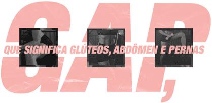 GAP: Glúteos, Abdômen e Pernas