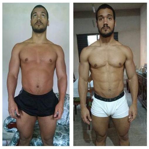 Leo: 6 meses de treino Aluno do Curso Natural Bodybuilding - O guia completo de treino do Caio Botura
