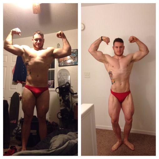 Cameron: 4 meses de treino Aluno do Curso Natural Bodybuilding - O guia completo de treino do Caio Botura