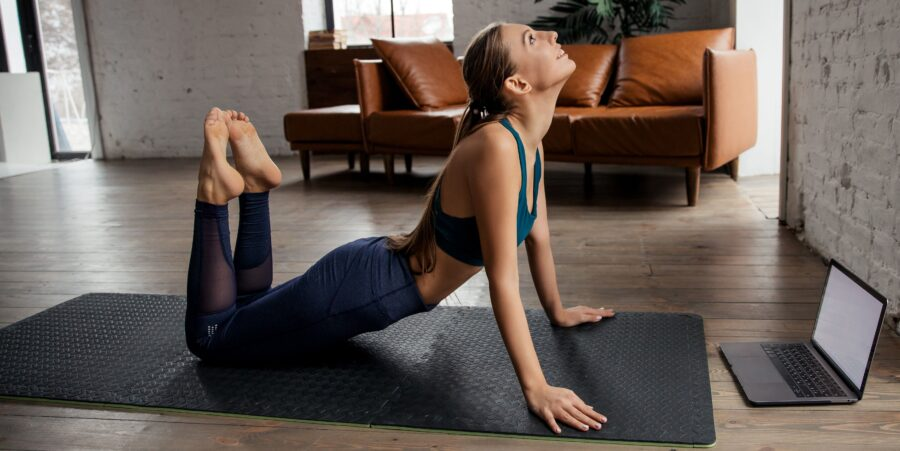 Yoga em prática